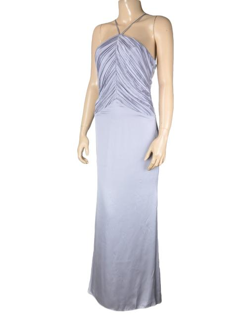 Blue Maxi Dress by BCBGeneration Purple Pleated Strappy Maxi Image 2