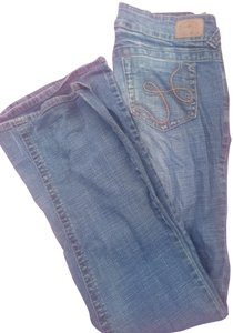 Hydraulic Straight Leg Jeans-Light Wash