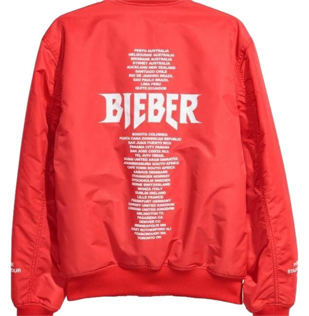 Preload https://img-static.tradesy.com/item/24624141/h-and-m-red-justin-bieber-purpose-tour-jacket-size-0-xs-0-1-650-650.jpg