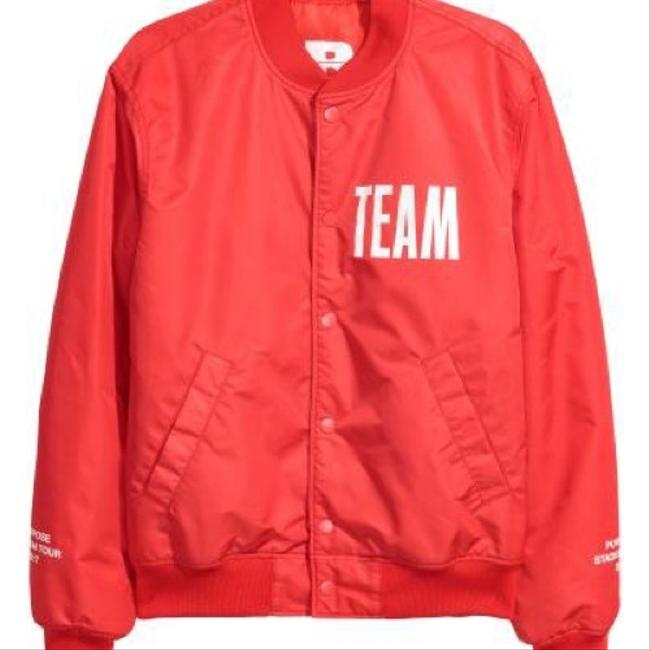 H&M Red Jacket Image 1