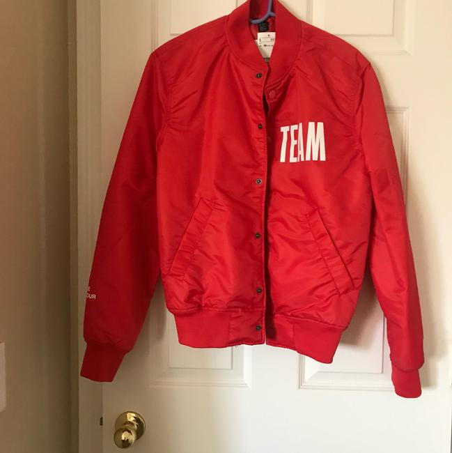 H&M Red Jacket Image 2