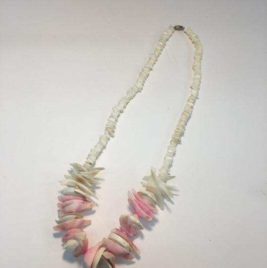 Vintage Vintage Pukka Shell and colorful shell necklace Image 2