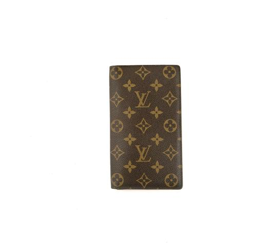 Preload https://img-static.tradesy.com/item/24624192/louis-vuitton-brown-rare-vintage-monogram-canvas-leather-oversized-long-travel-wallet-0-0-540-540.jpg