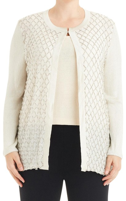 Preload https://img-static.tradesy.com/item/24624276/st-john-cream-light-gold-beaded-knit-and-sweater-76307-cardigan-size-12-l-0-1-650-650.jpg