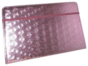 Michael Kors Leather Notebook 191935094155 Wristlet in Pink