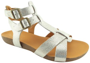 7fcc786b8745 Kork-Ease Strappy Doughty Caged Walking Light Gold Platino Sandals
