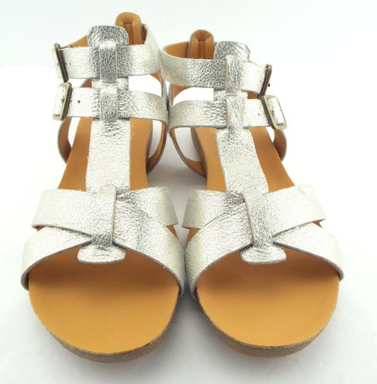 Kork-Ease Strappy Doughty Caged Walking Light Gold Platino Sandals