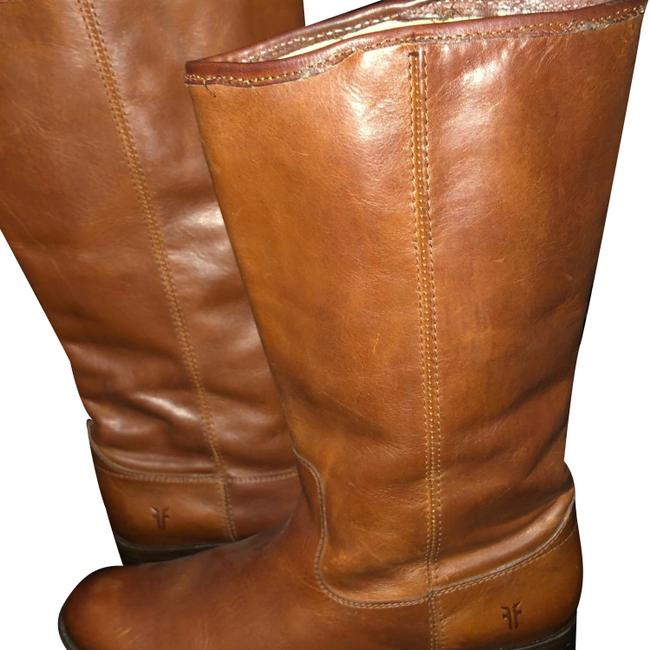 Frye Cognac Brown Riding Boots/Booties Size US 8.5 Regular (M, B) Frye Cognac Brown Riding Boots/Booties Size US 8.5 Regular (M, B) Image 1