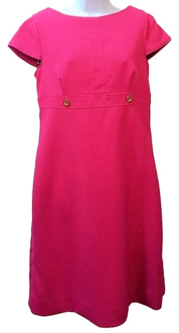 Preload https://img-static.tradesy.com/item/24624403/lilly-pulitzer-hot-pink-cap-sleeve-day-mid-length-workoffice-dress-size-4-s-0-1-650-650.jpg