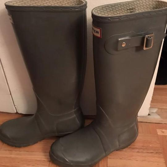 Hunter Gray Boots