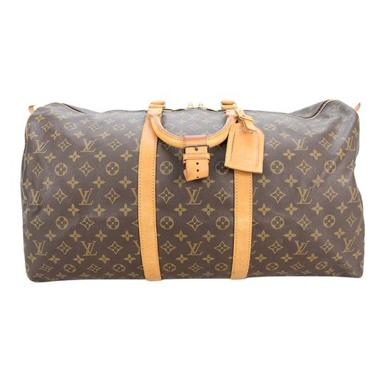 Preload https://img-static.tradesy.com/item/24624451/louis-vuitton-duffle-keepall-monogram-55-boston-l-brown-canvas-weekendtravel-bag-0-0-540-540.jpg