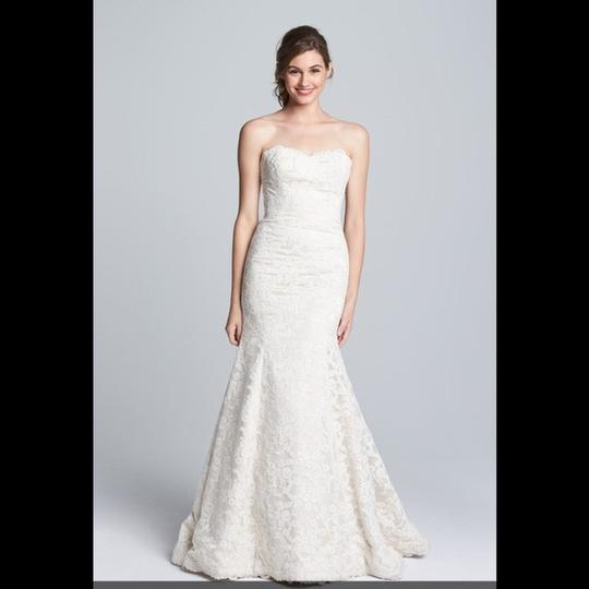 Preload https://img-static.tradesy.com/item/24624494/hayley-paige-ivorychampagne-lace-cricket-trumpet-mermaid-gown-vintage-wedding-dress-size-4-s-0-0-540-540.jpg