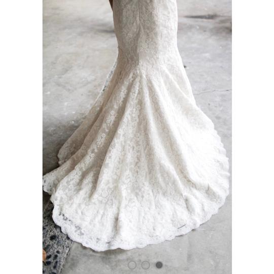 Hayley Paige Ivory/Champagne Lace Cricket Trumpet Mermaid