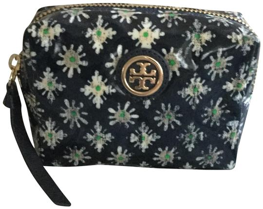 Preload https://img-static.tradesy.com/item/24624572/tory-burch-navy-blue-floral-small-cosmetic-bag-0-2-540-540.jpg