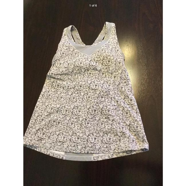 Lululemon floral turbo tank cutout open back top