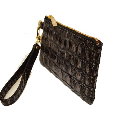 Brahmin Holly 3 piece Wristlet Croco Set NWT