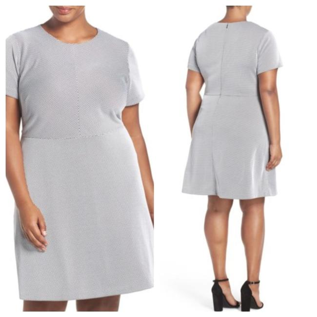 Preload https://img-static.tradesy.com/item/24624620/michael-kors-white-jacquard-fit-and-flare-sleeve-lined-short-casual-dress-size-24-plus-2x-0-0-650-650.jpg