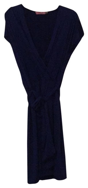Royal Blue Evening Mid-length Short Casual Dress Size 14 (L) Royal Blue Evening Mid-length Short Casual Dress Size 14 (L) Image 1