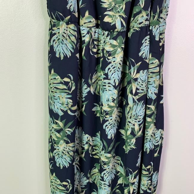 Blue Maxi Dress by Le Kate Floral Maxi Floral Sleeveless Floral
