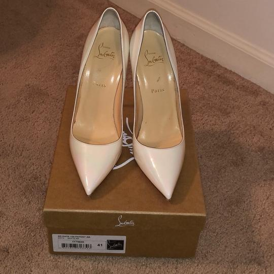 Christian Louboutin white Pumps