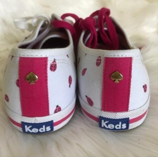 Kate Spade pink and white Athletic