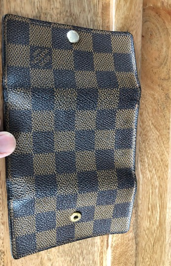 Louis Vuitton Louis Vuttion keycase 6 Brown Damier keyholder