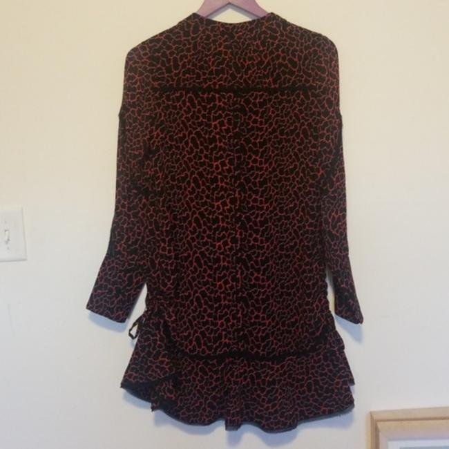 Proenza Schouler short dress Black and Red on Tradesy