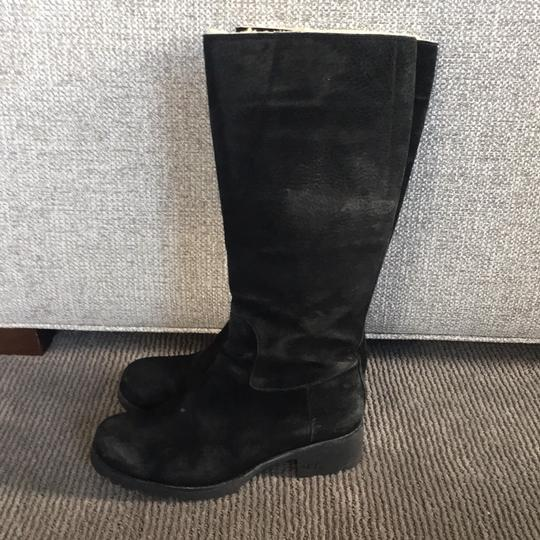 UGG BLACK SUEDE HIGH BOOT Boots