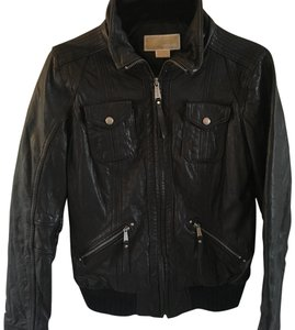 Michael Kors black Leather Jacket - item med img