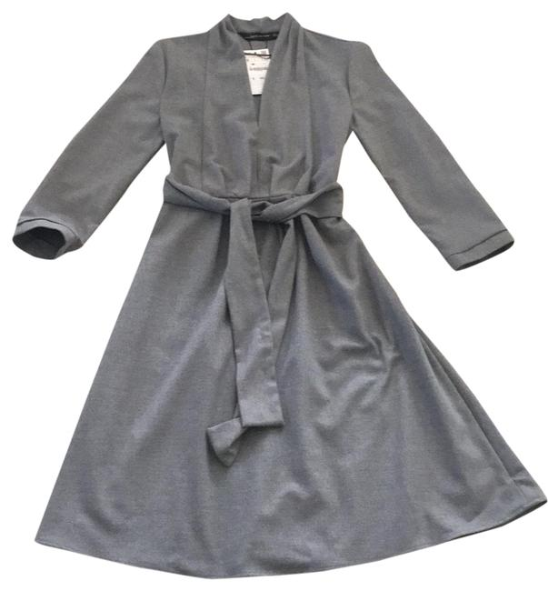 Preload https://img-static.tradesy.com/item/24624788/zara-gray-flannel-fit-and-flair-mid-length-short-casual-dress-size-6-s-0-1-650-650.jpg