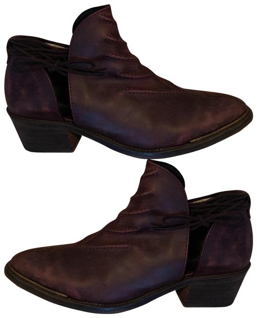 Free People Maroon Boots/Booties Size EU 40 (Approx. US 10) Regular (M, B) Free People Maroon Boots/Booties Size EU 40 (Approx. US 10) Regular (M, B) Image 1