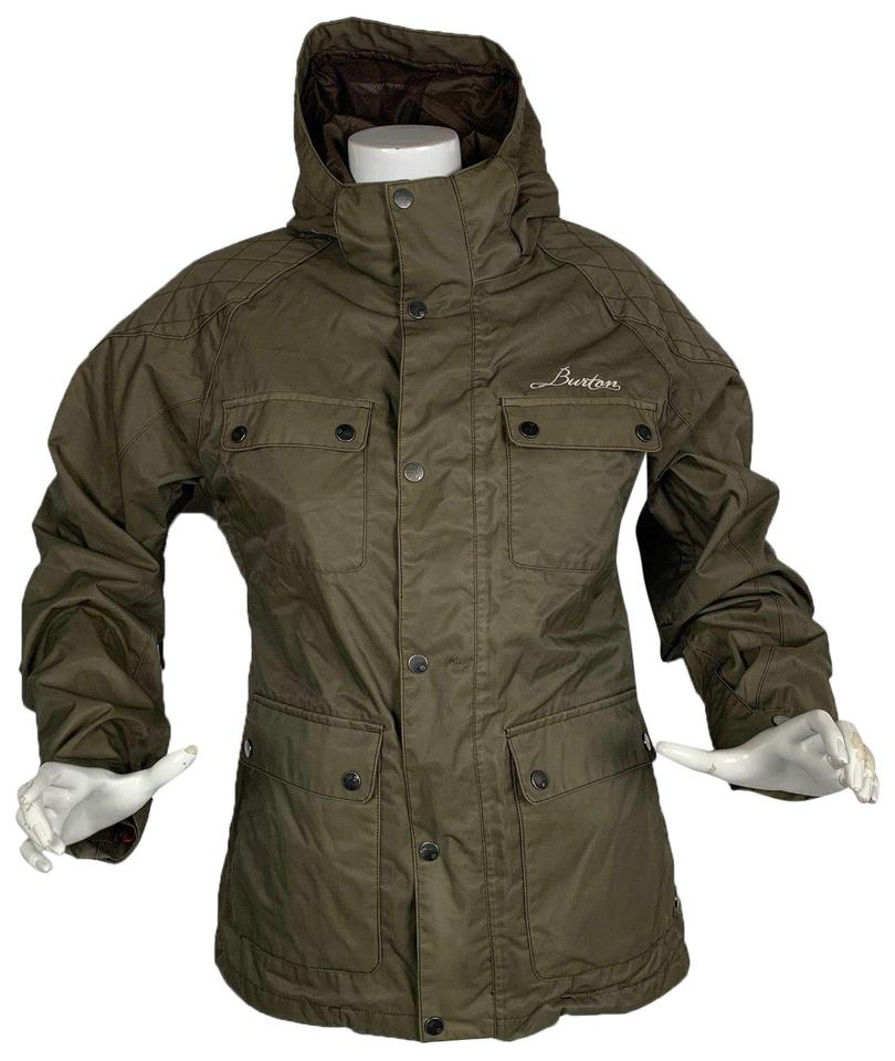 1de40d45aaa Burton Burton 2 1 system 3-in-1 Snowboard Winter Jacket Women Green ...