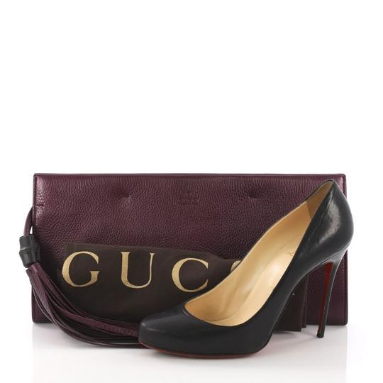 Gucci Leather purple Clutch