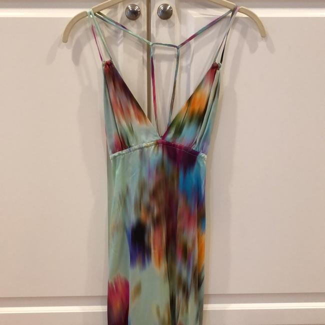 tie-dye multi color Maxi Dress by Naked Princess Image 3