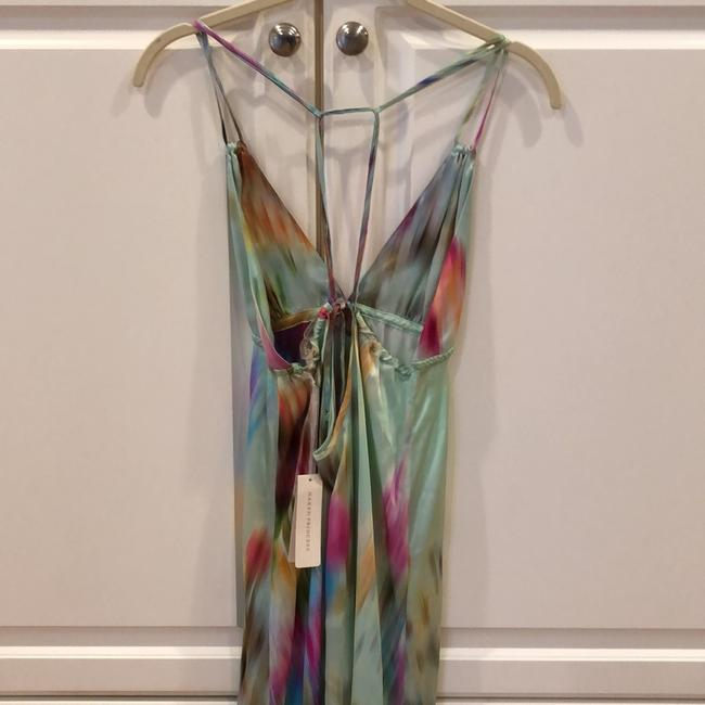 tie-dye multi color Maxi Dress by Naked Princess Image 4