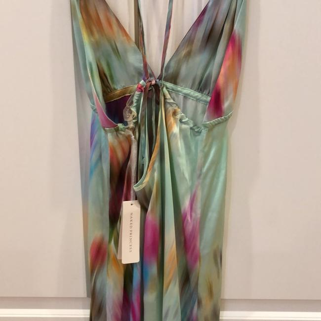 tie-dye multi color Maxi Dress by Naked Princess Image 6
