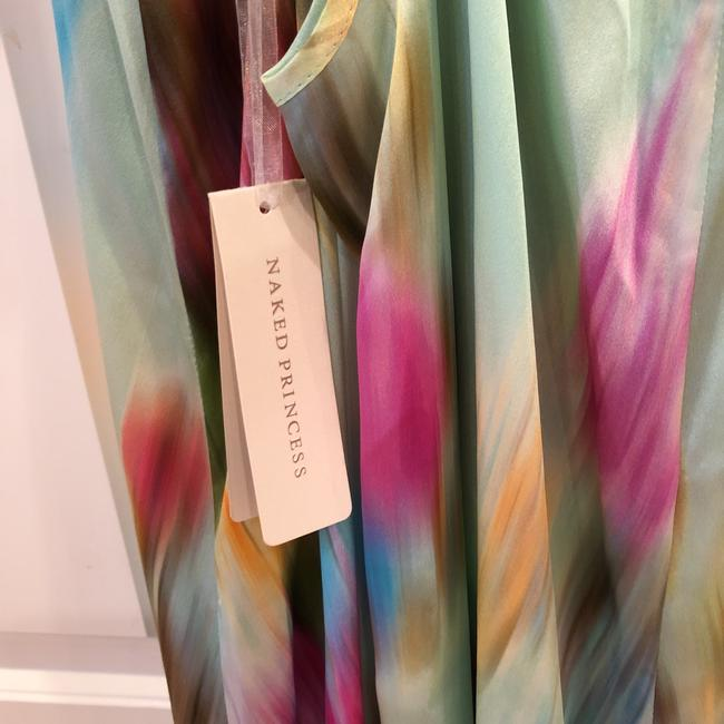 tie-dye multi color Maxi Dress by Naked Princess Image 7