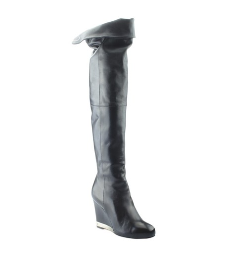 Preload https://img-static.tradesy.com/item/24624940/chanel-black-leather-over-the-knees-wedge-163326-bootsbooties-size-eu-37-approx-us-7-regular-m-b-0-0-540-540.jpg
