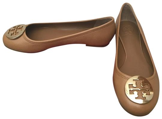 Preload https://img-static.tradesy.com/item/24625205/tory-burch-brown-reva-tumbled-leather-ballet-flats-size-us-9-regular-m-b-0-1-540-540.jpg