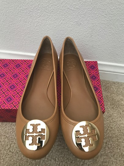 Tory Burch Brown Flats Image 1
