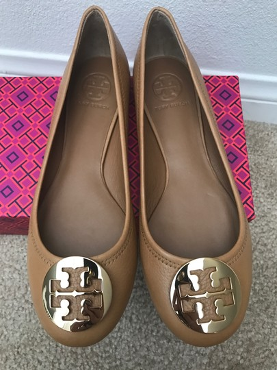 Tory Burch Brown Flats Image 5