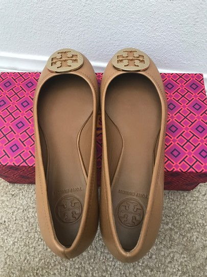 Tory Burch Brown Flats Image 8