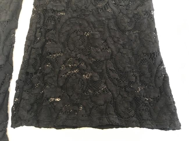 Calvin Rucker Lace One Sleeve Blouse Top black Image 2