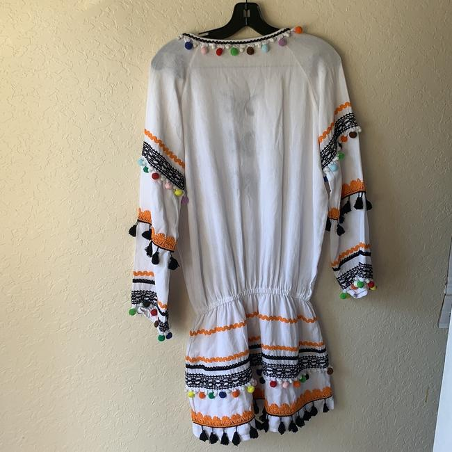 DODO BAR OR short dress multi color palms but actual dress is white on Tradesy Image 3