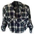 Rails Top Plaid: White, Blue, Green Image 0