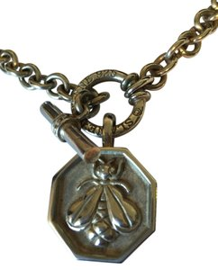SLANE Slane and Slane Smooth Chain link necklace and LARGE Bee Collection pendant