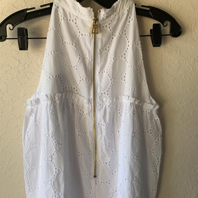 Sail to Sable short dress White And Gold Zipper on Tradesy Image 2