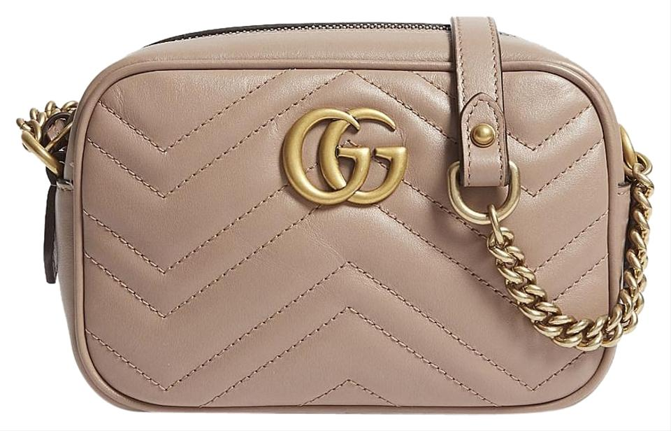 dcc752dc9798 Gucci Shoulder Marmont Gg Camera Mini Quilted Leather Cross Body Bag ...