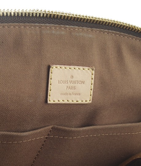 Louis Vuitton Pre-owned France Satchel in Coated Canvas Image 9