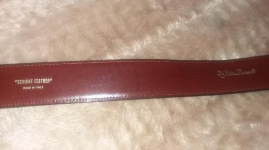 Paloma Picasso Paloma Picasso Brown Leather Belt Image 9